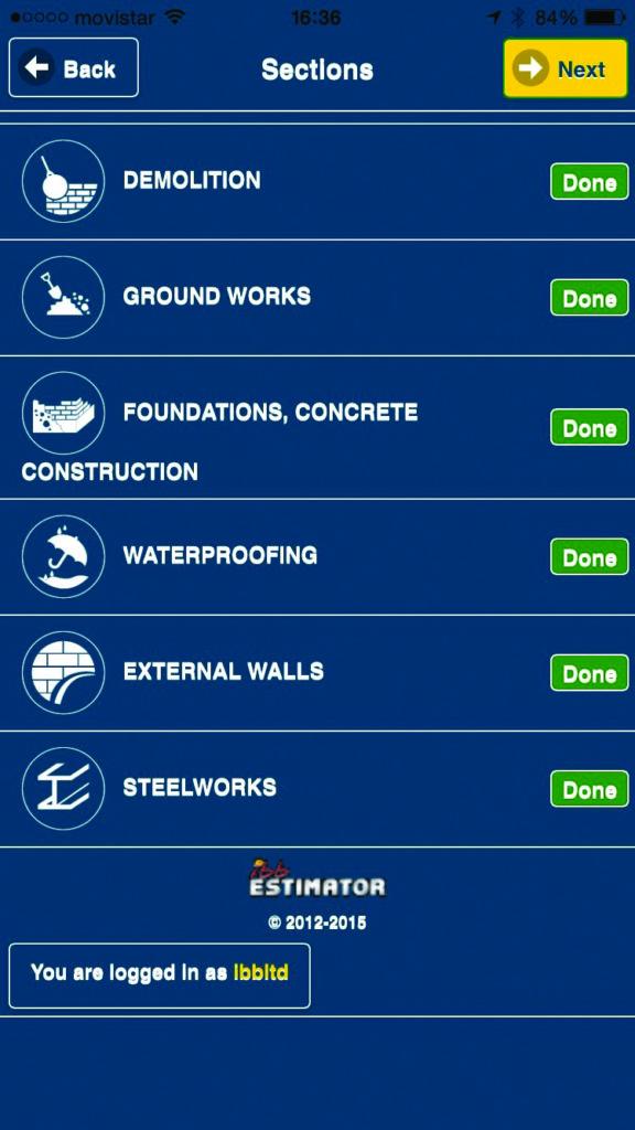 Estimator | IBB Builders Merchants Mobile Building Calculator